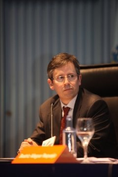 Manuel Pillado Quintáns, letrado da Xunta de Galicia  - Congreso sobre Unha Visión Xuridica do Camiño de Santiago